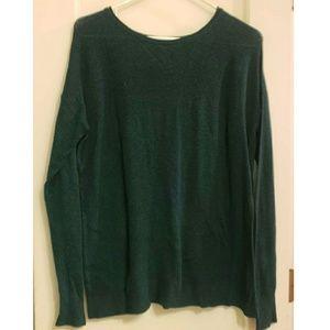 AEO Ahh-Mazingly Soft Green Long sleeve Sweater